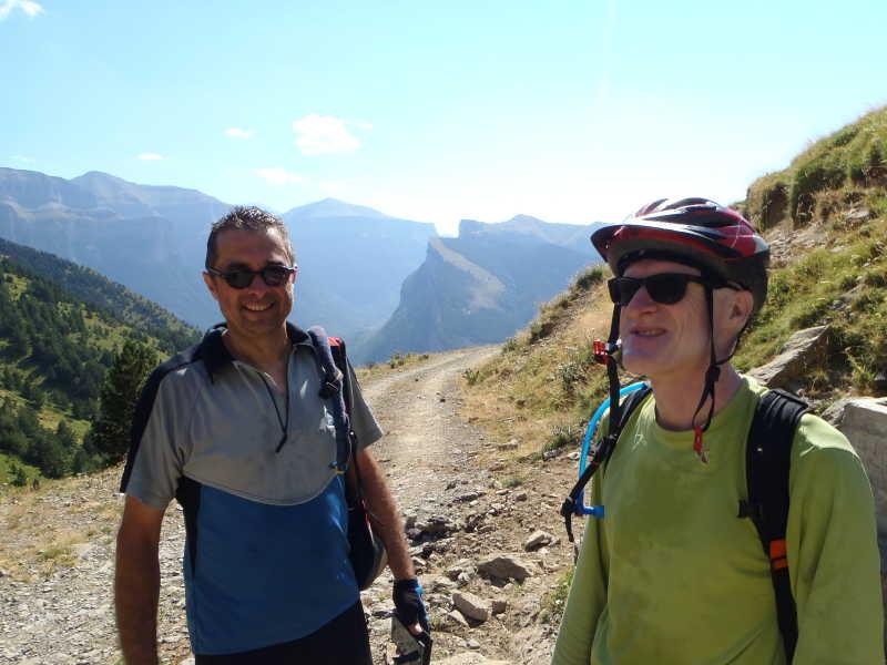 Sortie VTT du club alpin de Bagnères-de-Bigorre parcours N°29 sur Torla