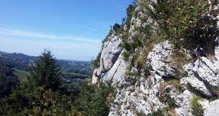 Sortie escalade falaise du Tucou CAF Bagnères de Bigorre