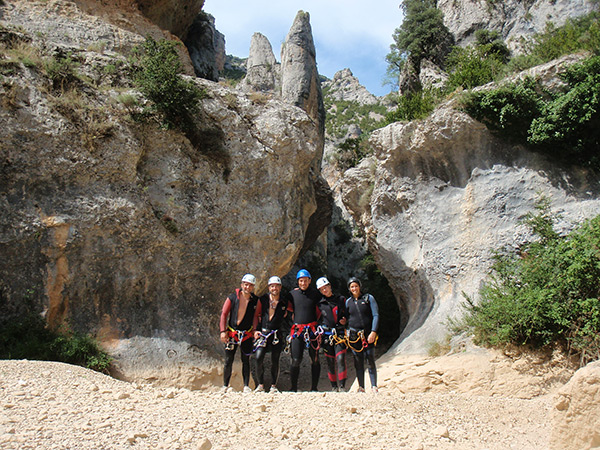 Photo canyoning CAF Bagnères-de-Bigorre