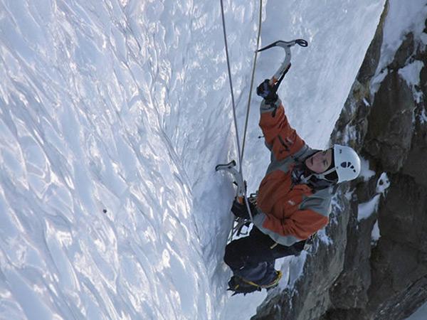 Photo cascade de glace CAF Bagnères-de-Bigorre