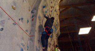 Session d'escalade au Gymnase Cordier avec le Club Alpin de Bagnères de Bigorre