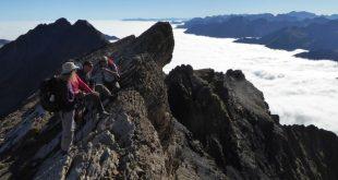 Sortie randonnée du Club Alpin de Bagnères de Bigorre au pic d'Estaragne et du Campbiel