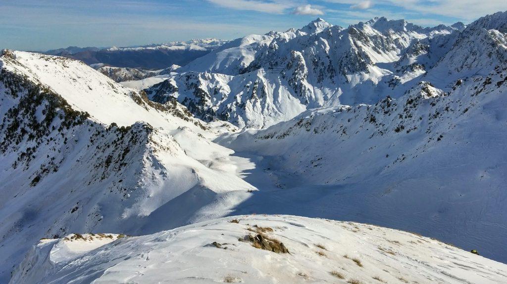 Sortie randonnée à ski à Coume Lounque