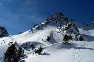 Ski crête de la Pègue