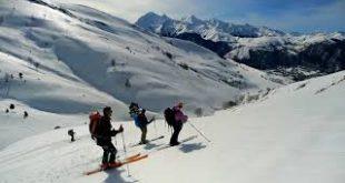 Ski de randonnée sommet de Pouyaué