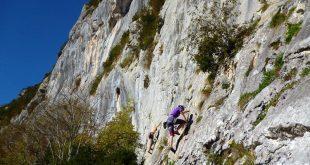 Sortie escalade à Suberpène Club Alpin Bagnères-de-Bigorre
