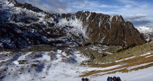 Sortie au pène Arrouye du Club Alpin de Bagnères-de-Bigorre