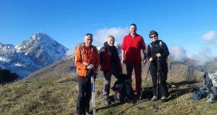 Sortie Club Alpin de Bagnères-de-Bigorre au Cortalets