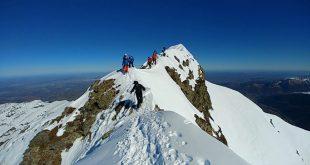 Ski de randonnée pic de Montaigu